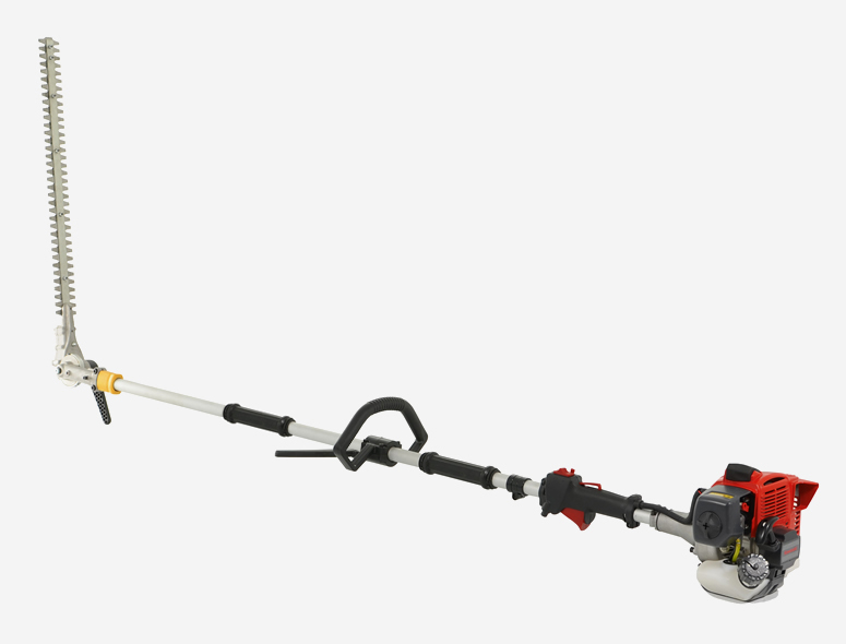 cobra lrh270k petrol long reach hedgetrimmer