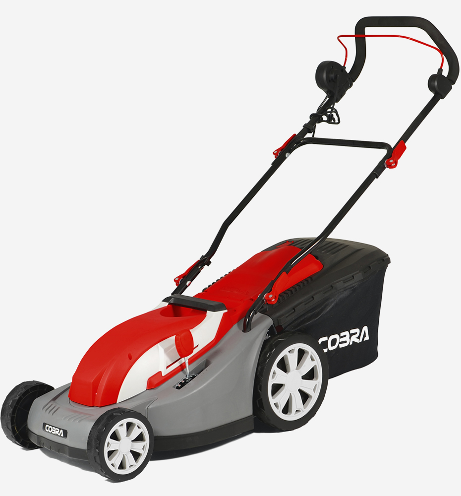 Lawn Mower Rear Suspension : Cobra gtrm quot electric lawnmower with rear roller